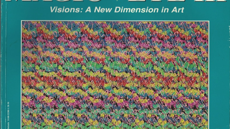 How Do Magic Eye Pictures Work? The Trick Behind