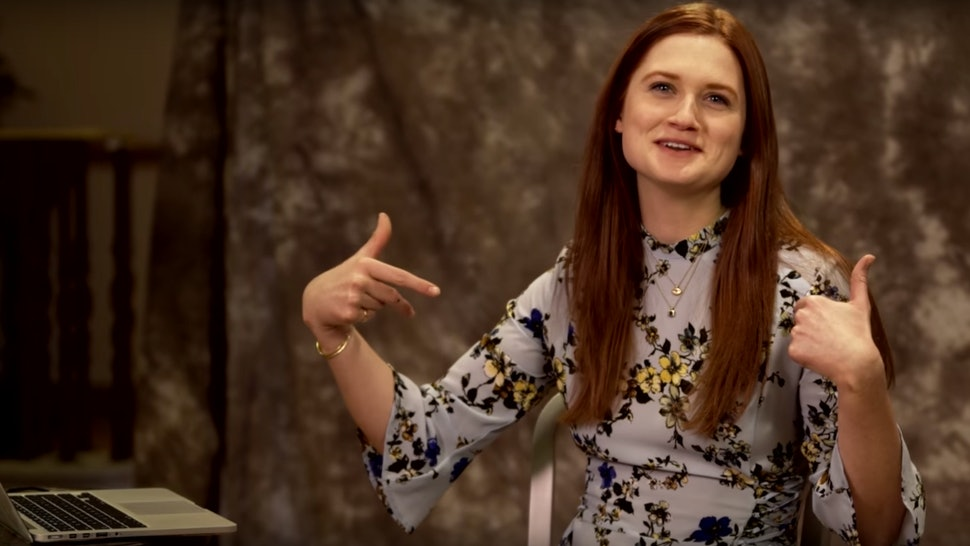 Bonnie Wright Took The Pottermore Sorting Hat Quiz — And