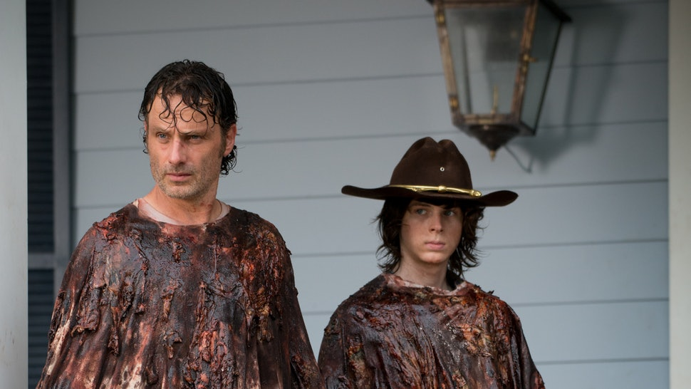 Carl Loses An Eye On 'The Walking Dead,' Which Means He'll Finally