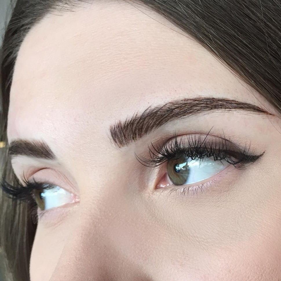 What Is Eyebrow Embroidery Here S What You Need To Know According
