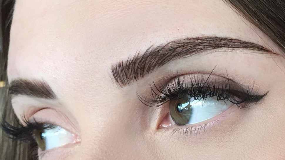 What Is Eyebrow Embroidery Heres What You Need To Know According