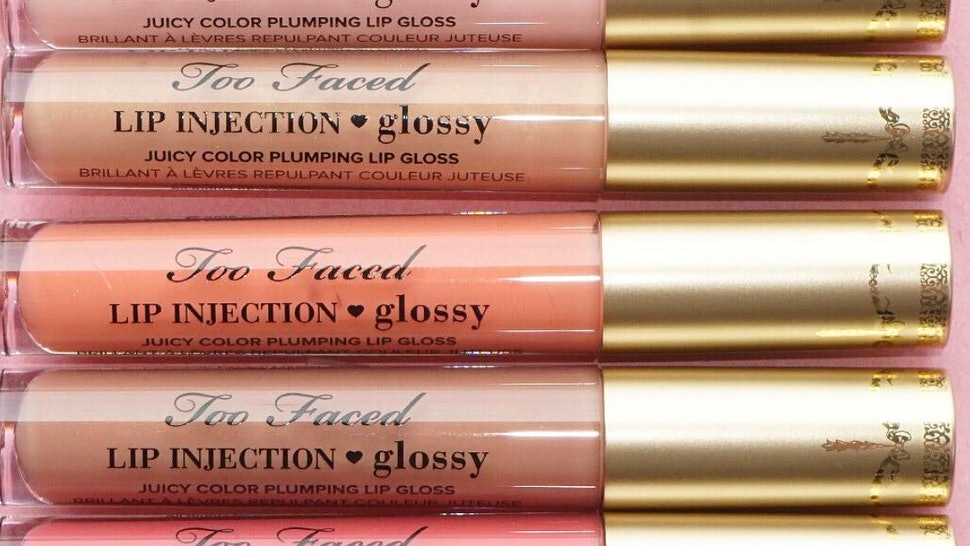 Where Can You Buy Too Faced Lip Injection Glossy With Color