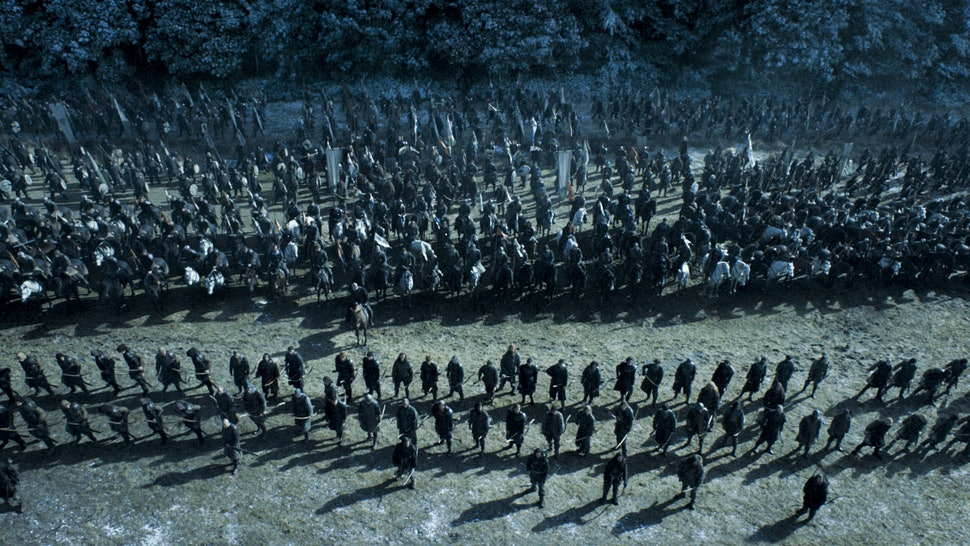 What Army Did Sansa Bring To The Battle Of Bastards On 'Game