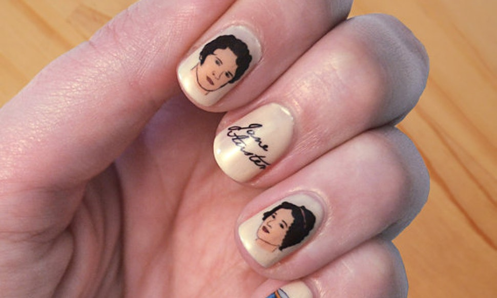 9 Literary-Inspired Manicures For Readers Who Wear Their Heart On ...