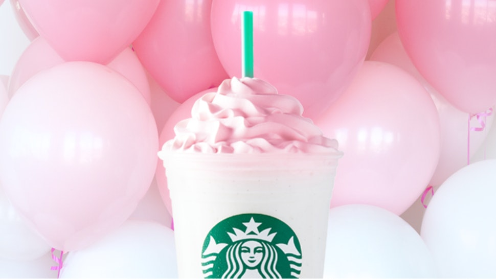 The Starbucks Birthday Cake Frappuccino Is Back And Its Perfect Reason To Celebrate