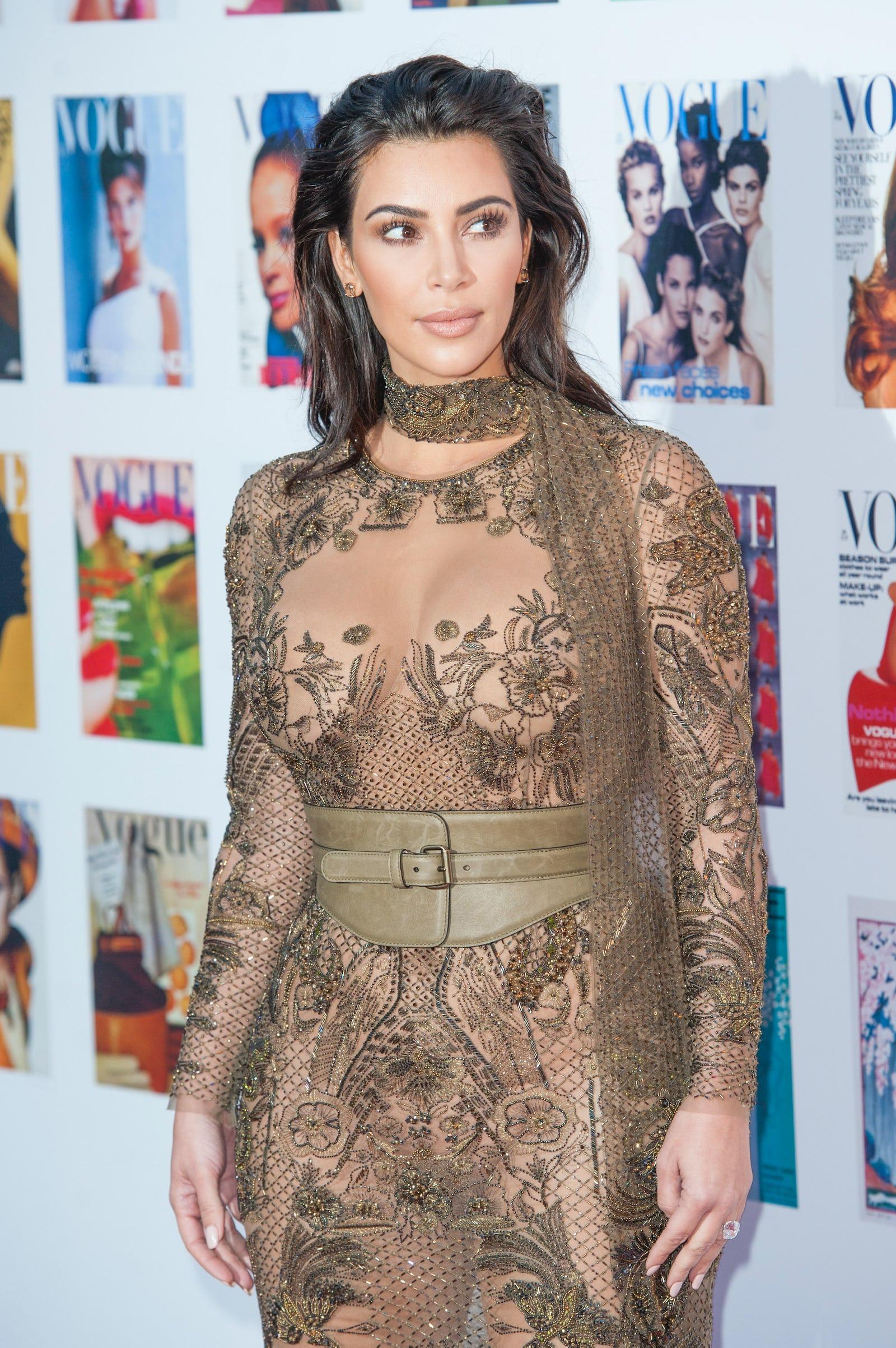 Kim Kardashian Has An Empowering Response To Critics Of