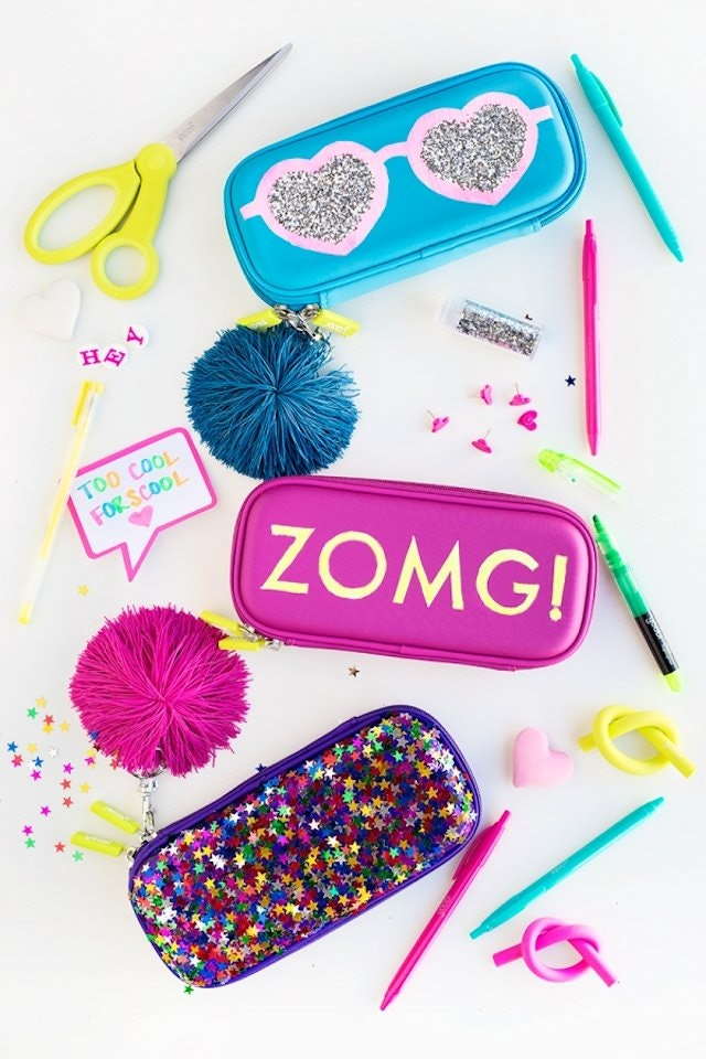 Diy School Part - 46: 10 DIY Back-To-School Supplies To Start The New School Year With Style