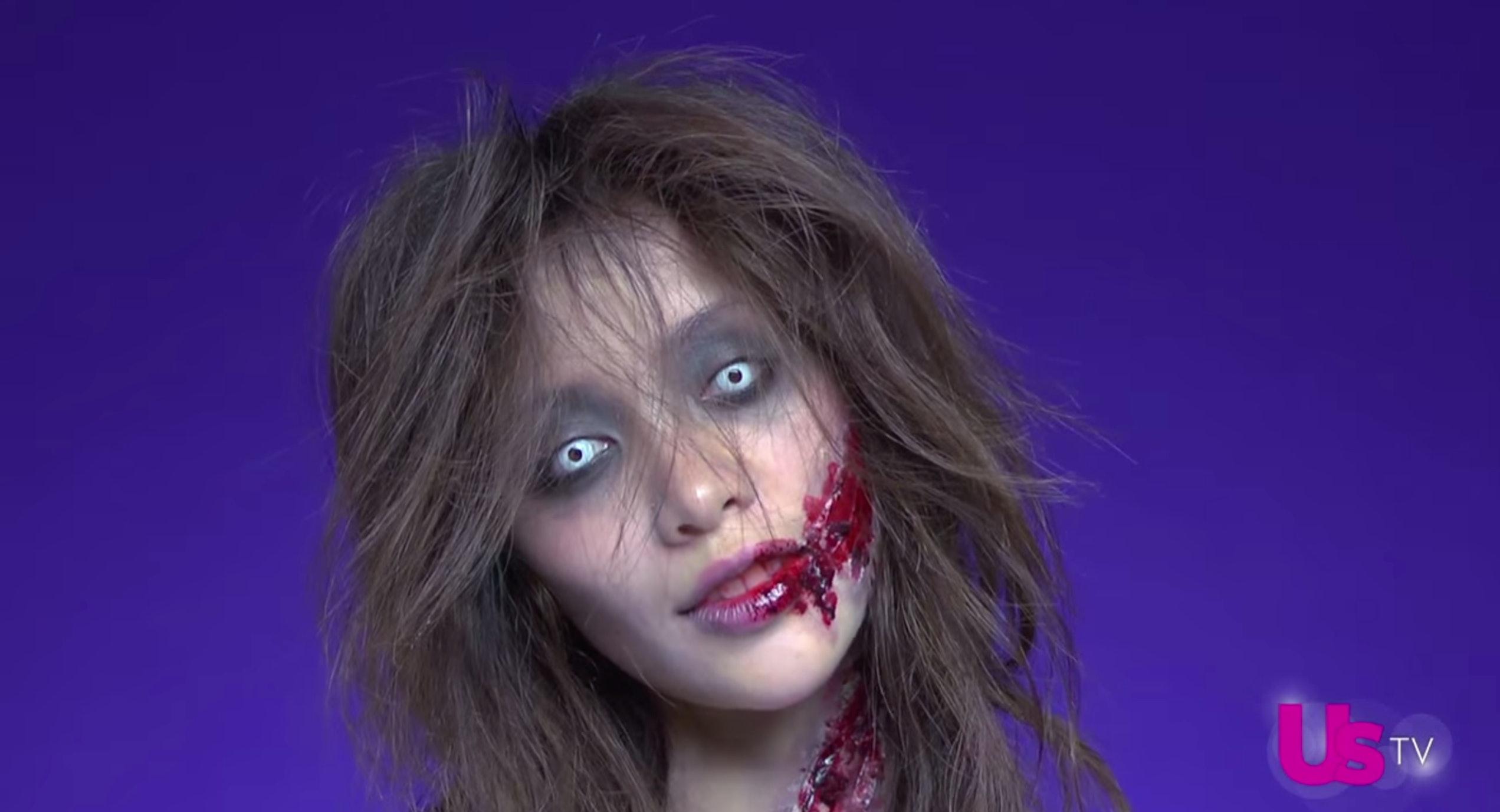 11 easy 2016 'walking dead' makeup tutorials to complete your