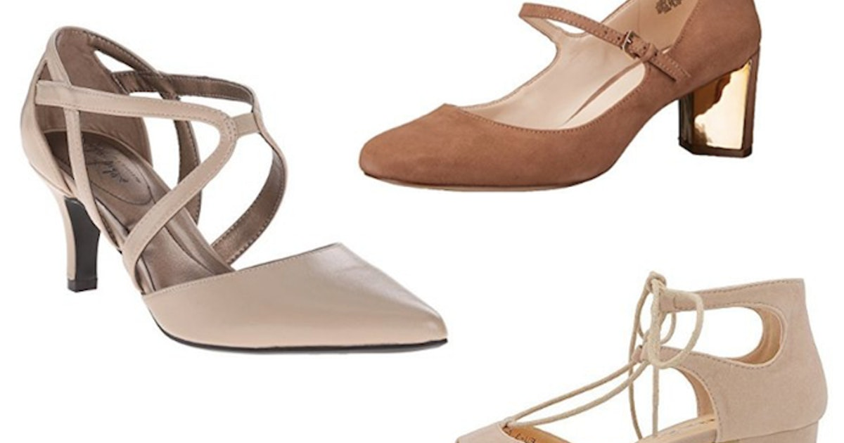 e5ab66b41abc81 15 Stylish Nude Pumps Comfortable Enough To Actually Wear All Day
