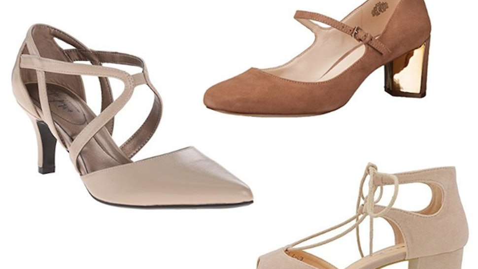 c230f6db24 15 Stylish Nude Pumps Comfortable Enough To Actually Wear All Day