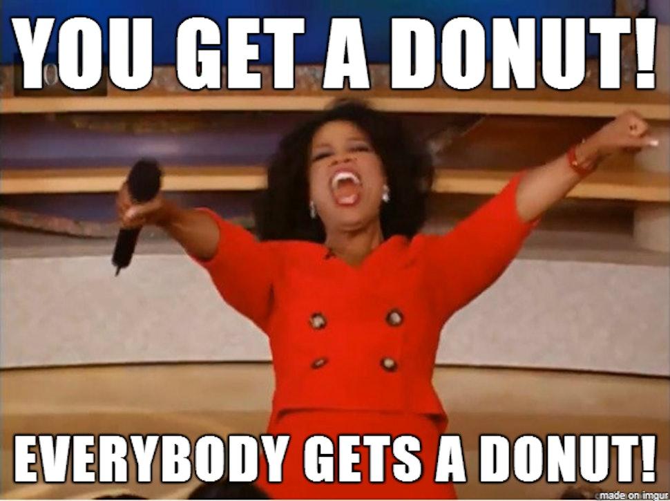 Image result for national donut day meme