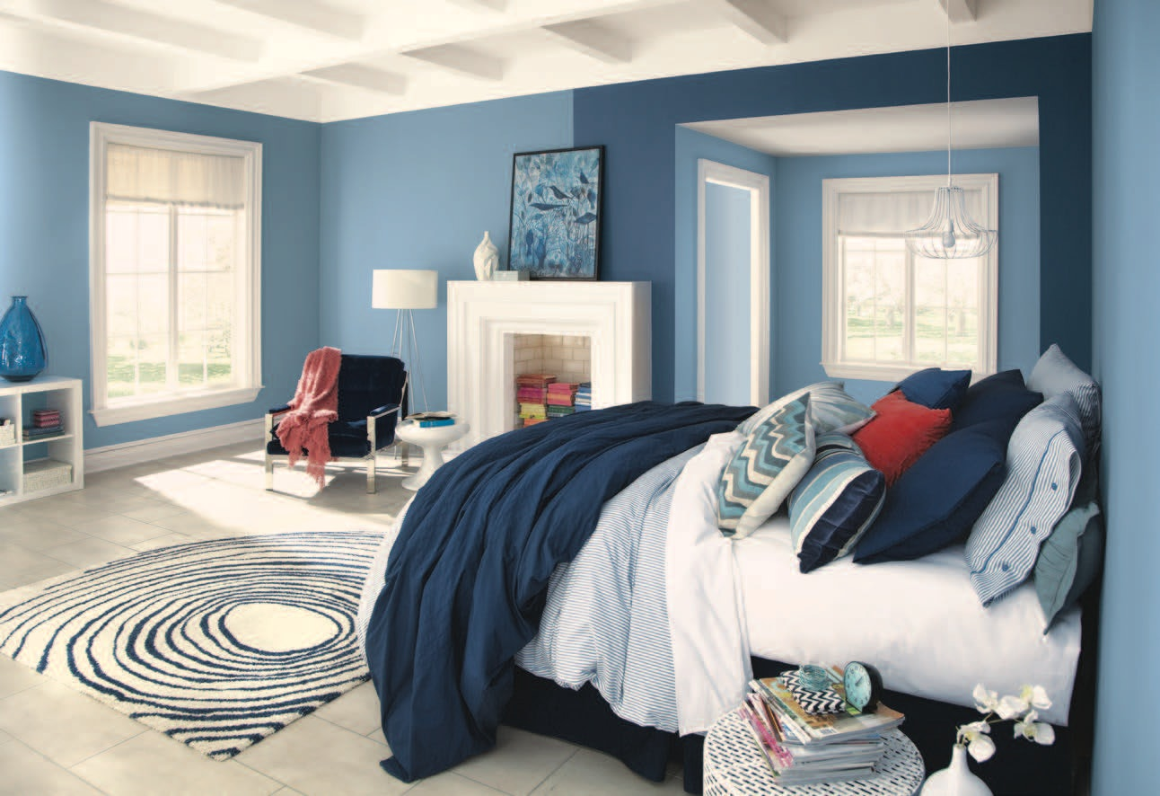 Bedroom Wall Color Design Ideas how to paint your walls to make any space look bigger