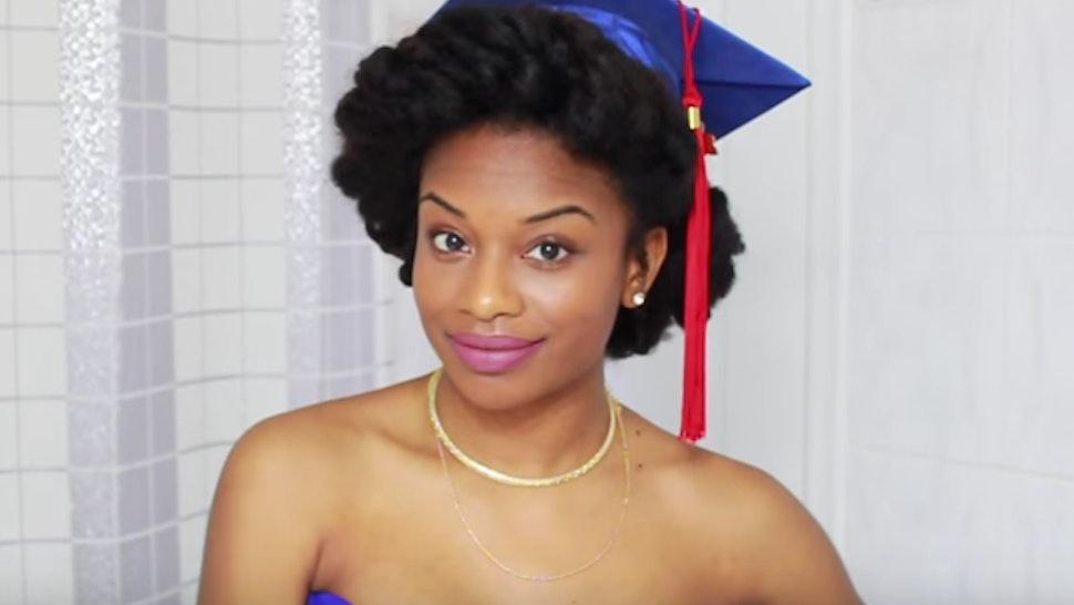 504383e072ce5 11 Unique Last Minute 2016 Graduation Hairstyles Courtesy Of Beauty Vloggers