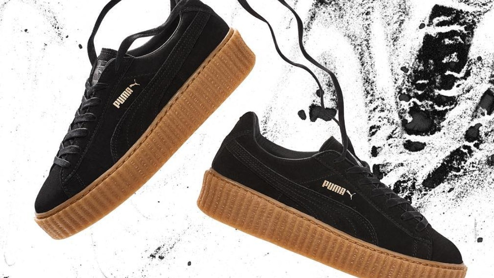 promo code e8639 adf28 How Much Are The Original Rihanna Puma Creepers? This Is The ...