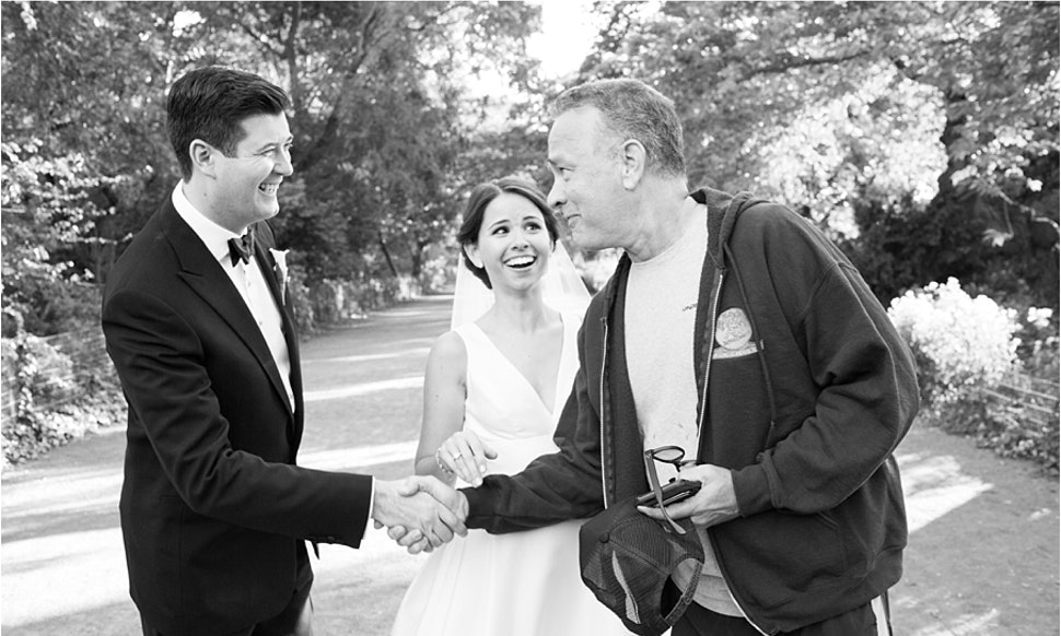 Tom Hanks Photos S Wedding Pictures Like The Standup Dude He Is