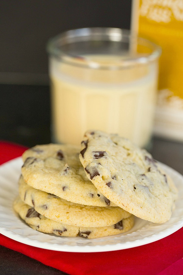 11 eggnog recipes that will have you wishing this holiday treat eggnog chocolate chunk cookies forumfinder Gallery
