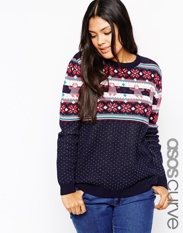 "33 Ugly Christmas Sweaters for Plus-Size Babes, Because ""Ugly"" Is ..."