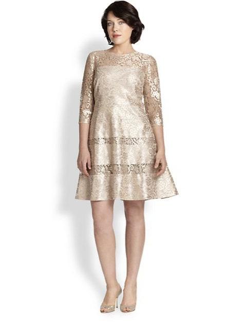 33 plus size wedding guest dresses for curvy ladies for Saks fifth avenue wedding guest dresses