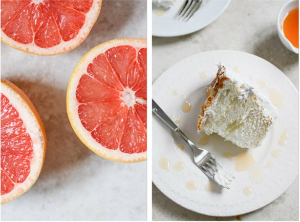 What Flavors Go Well With Angel Food Cake