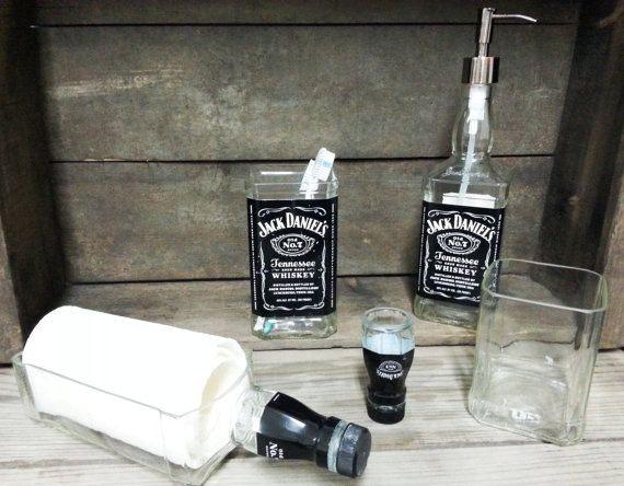 9 Ways To Repurpose Your Jack Daniel S Bottles Because