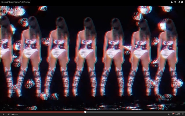 Beyoncé's Visual Album is All High-Gloss Makeup, Blonde ...