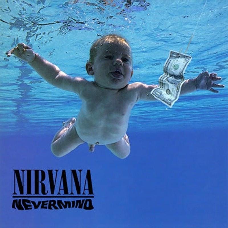 Nirvanas Nevermind album baby recreates iconic photo 25