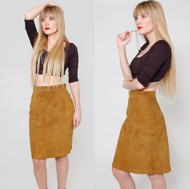 21 Suede Skirt Options For Summer That'll Solidify Your ...