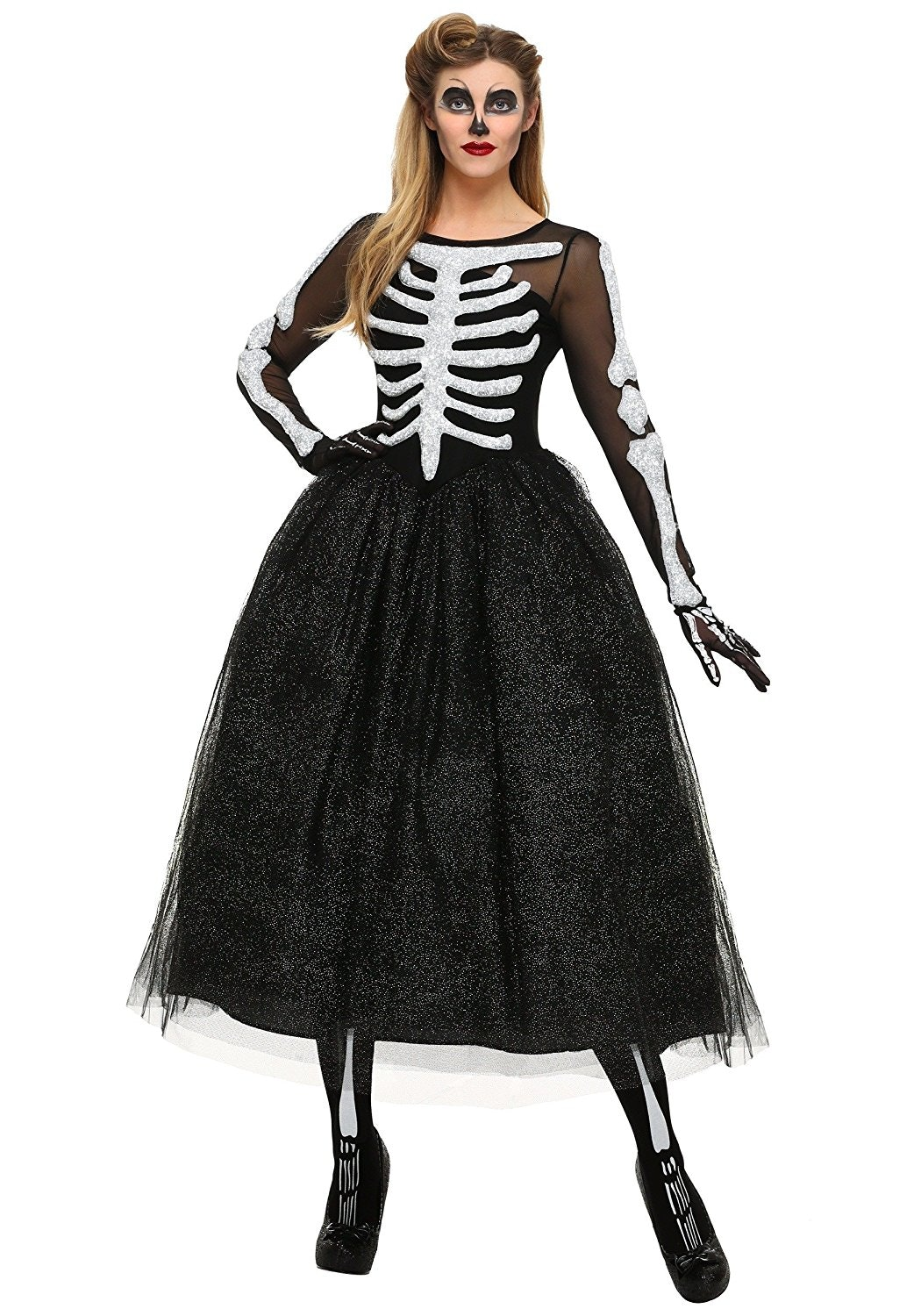 What better than a skeleton costume thatu0027s equal parts sexy and dark? The see-through mesh trim the full skirt and bone top is perfect for anyone wanting ...  sc 1 st  Bustle & 22 Cool Plus-Size Halloween Costumes