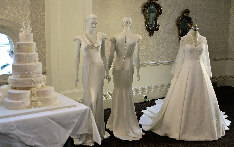 Medieval Wedding Dresses Arms Tree