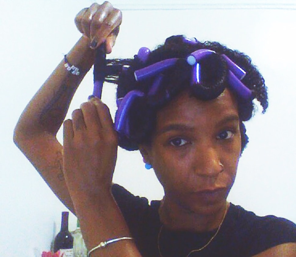 How To Use Flexi Rods On Wet Or Dry Hair To Create Pretty Spirals