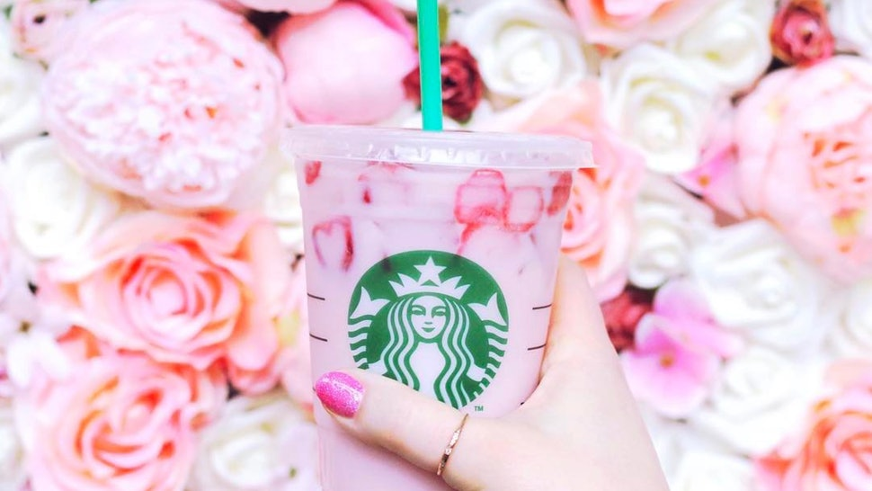 How To Order All The Starbucks Rainbow Drinks A Complete
