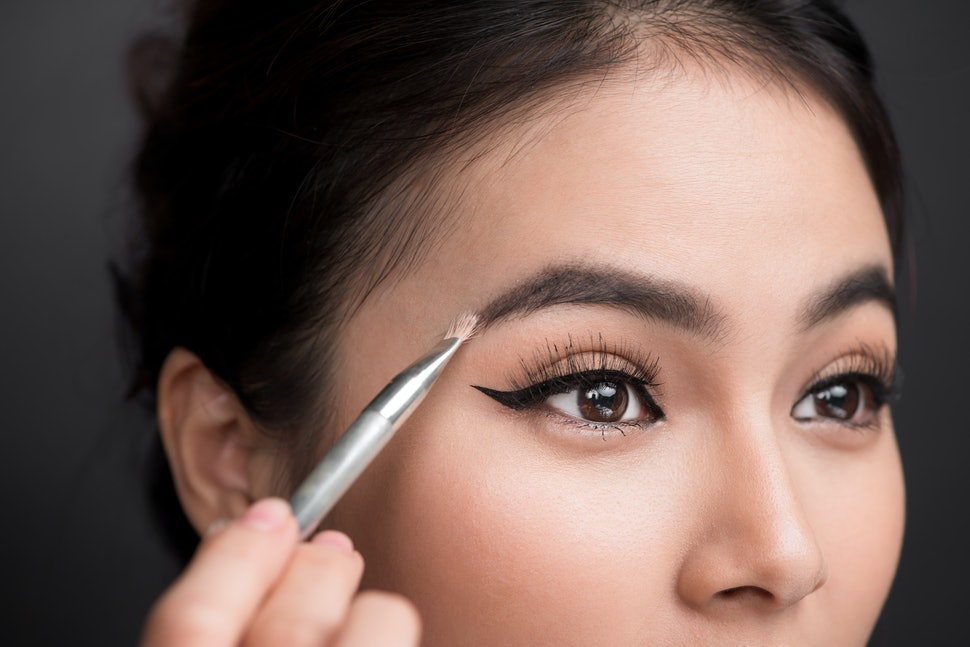 Image result for apply oil to your brows