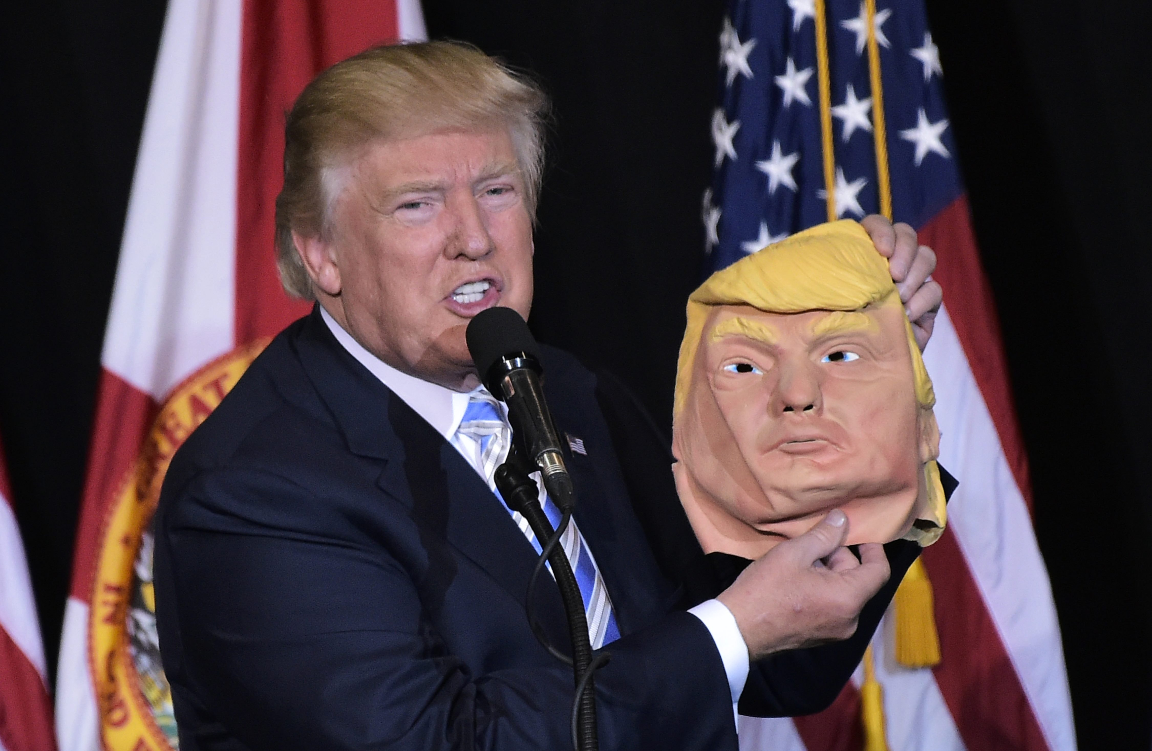 graphic about Donald Trump Mask Printable identify 9 Donald Trump Halloween Masks If On your own Have to have Towards Deliver The