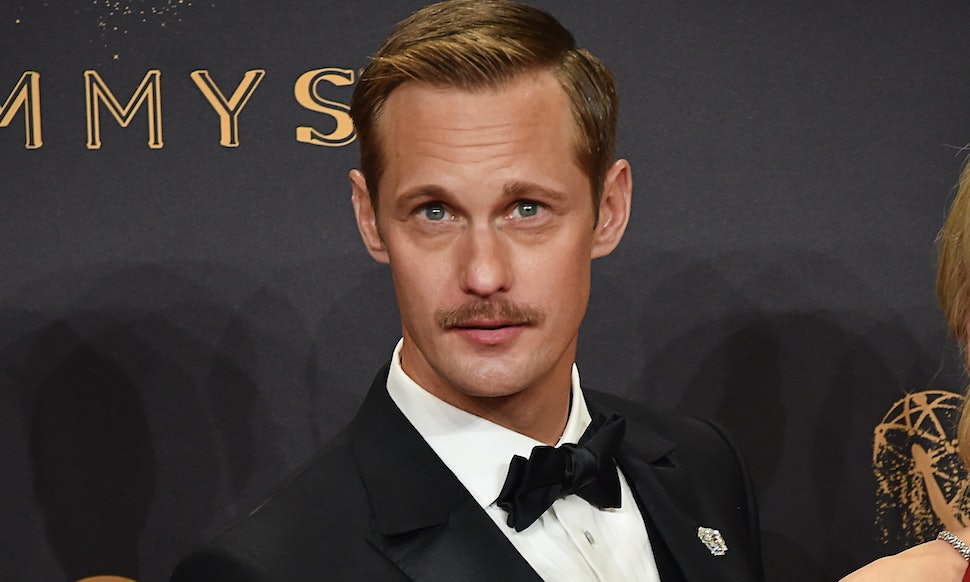 Is Alexander Skarsgards Bald Head Real Well This Is Upsetting