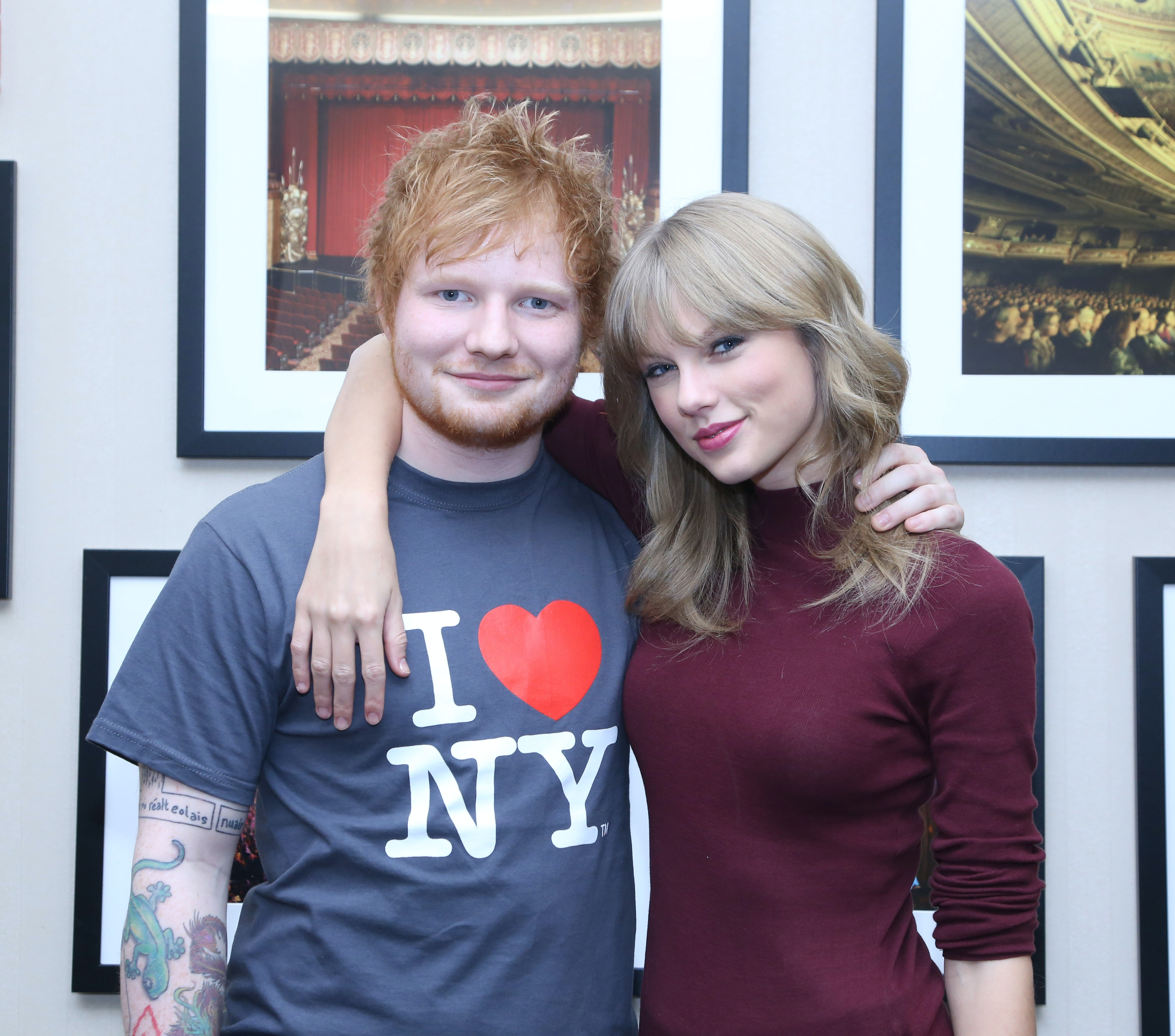 Are ed sheeran and taylor swift dating