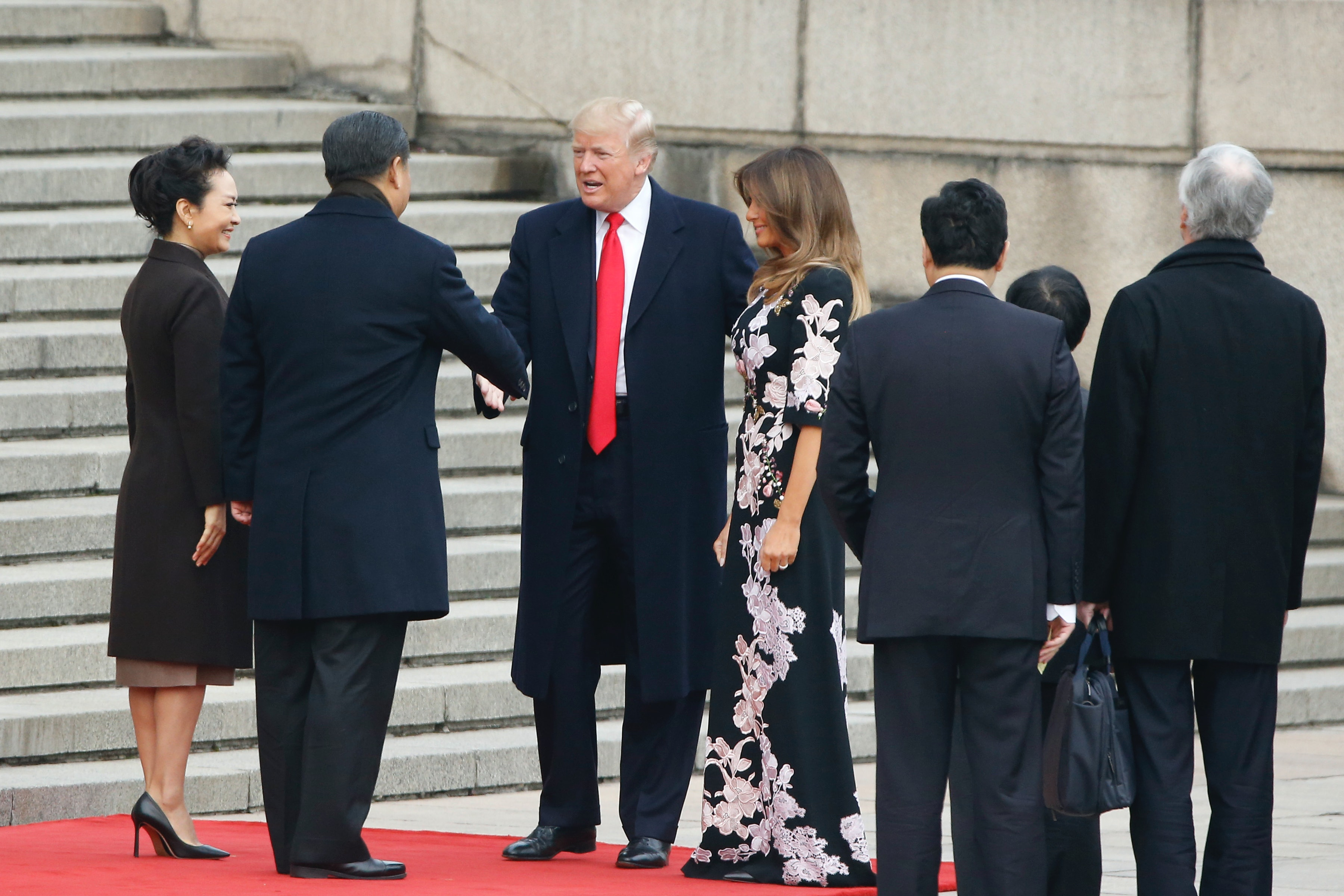 a23099e3d Melania Trump's Asia Trip Fashion Could Pay For A Year Of College