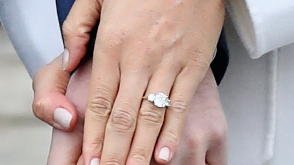 Meghan Markle Wedding Ring.How Much Is Meghan Markle S Engagement Ring Worth The Rock Is So
