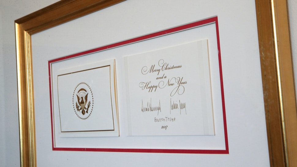 Trump S Christmas Card Made A Point To Not Be Politically Correct