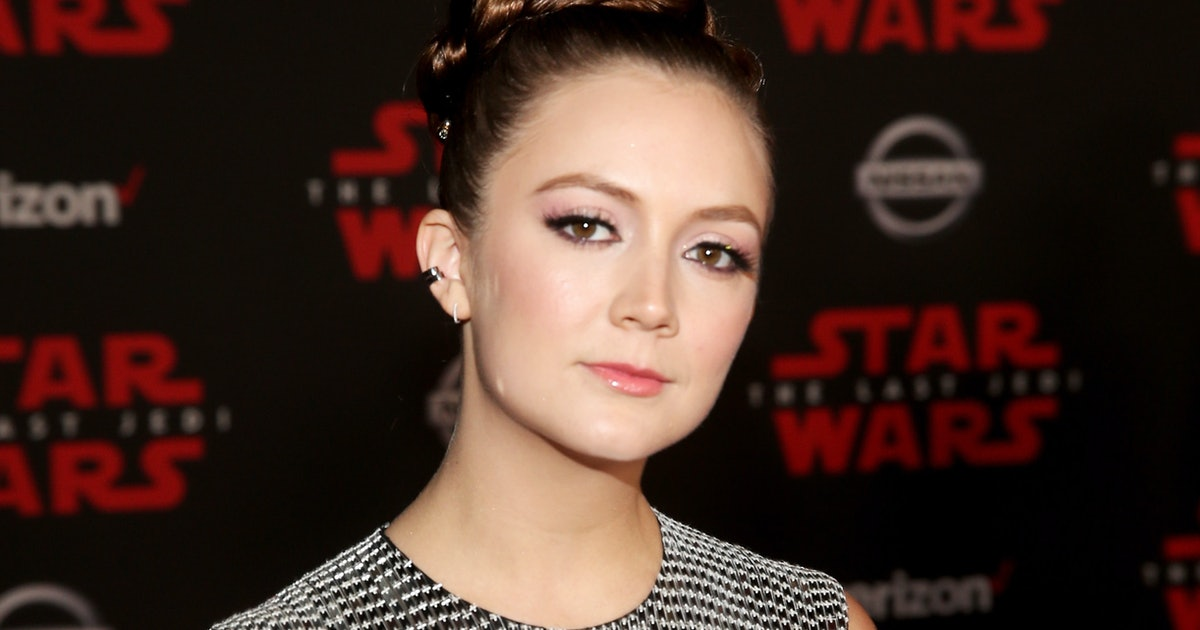 Billie Lourd S Star Wars Princess Leia Buns Honor Mom Carrie Fisher