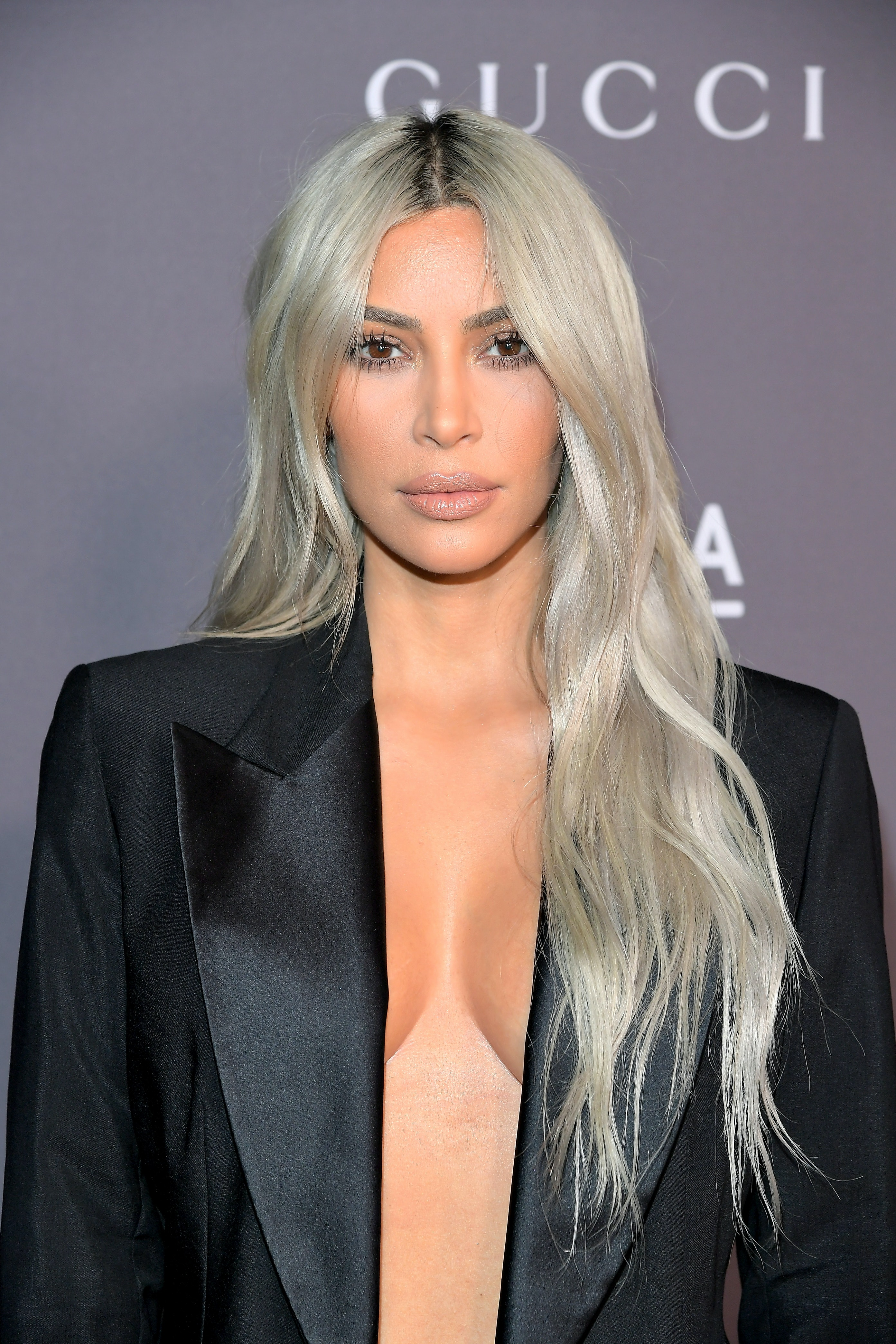 How Did Kim Kardashian Get Her Hair So Blonde Star Reveals The
