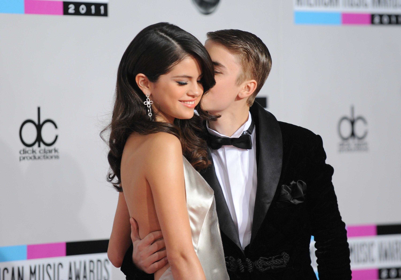 Justin Bieber dejting med Selena Gomez