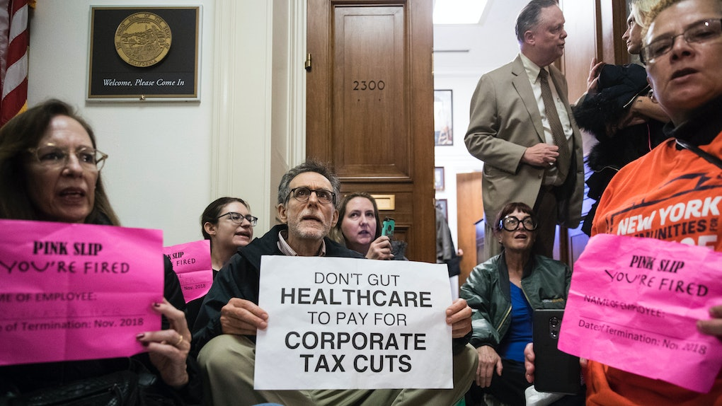 Image result for images of 2017 tax cuts bill
