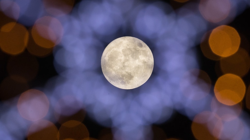 Why Is The January Moon Called The Wolf Moon? Here's How It Got Its