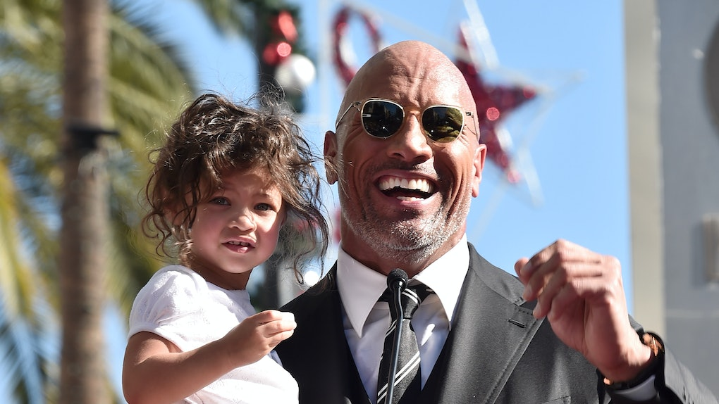 How Many Kids Does The Rock Have The Actor Is Expecting