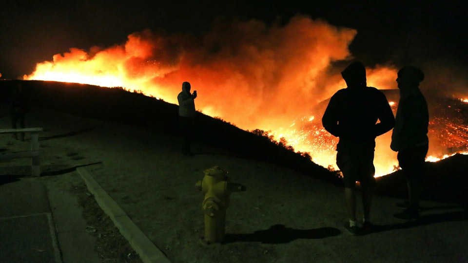 Where Is The Skirball Fire Parts Of Southern California Are In Danger