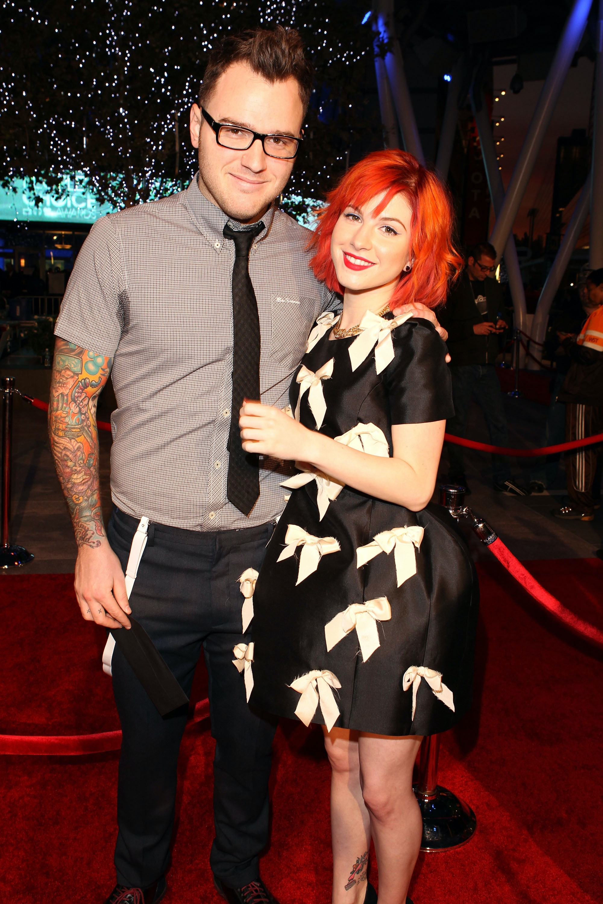 Are chad and hayley still dating after a year