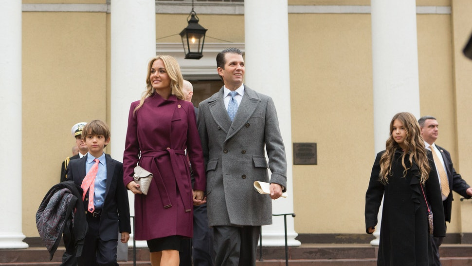 Trump Is III? Is  Donald Son Who Don The Jr's Third