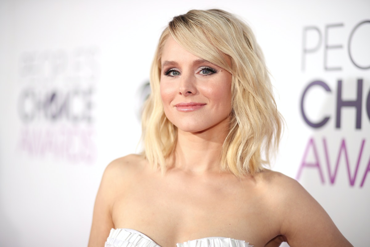 """Kristen Bell Let Her Daughter Shave Her Head & Is Totally Supportive Of Her """"Cool"""" New Hairstyle"""