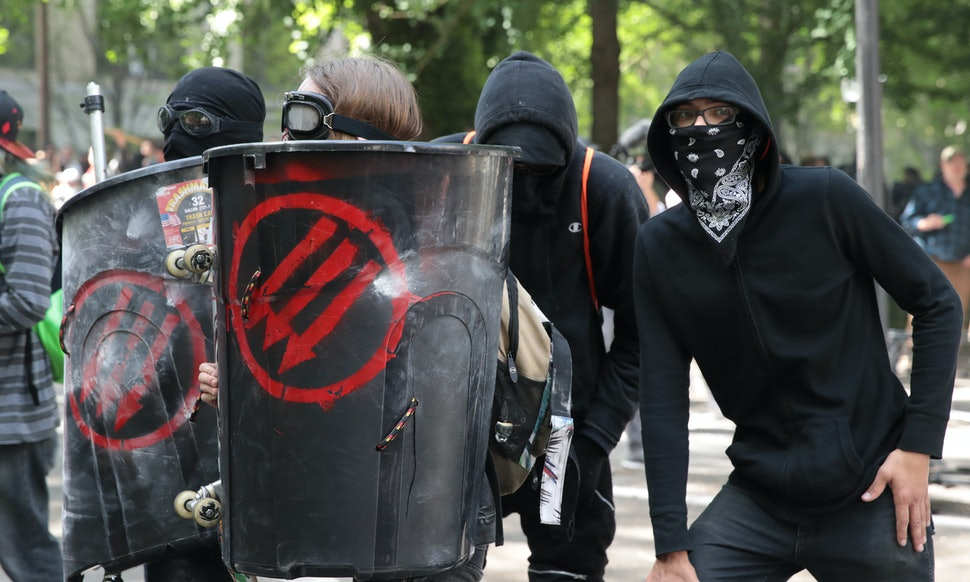 What Do The Antifa Symbols Mean The Flags Often Feature Three Arrows
