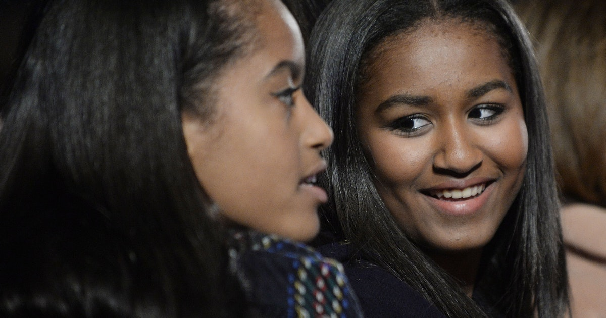 Sasha Obama Graduated High School, So Time Is Obviously Flying